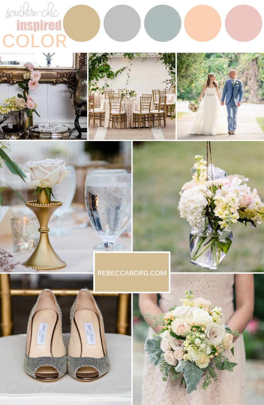 Southern Chic Palette Chicago Wedding Photographer