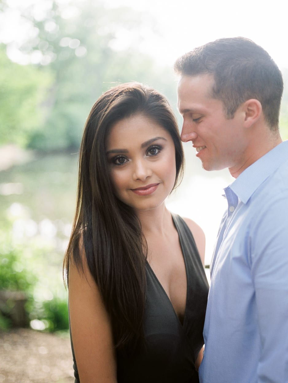 hinsdale photographer engagement session at oak brook illinois