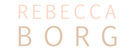 Chicago Photographer Rebecca Borg logo